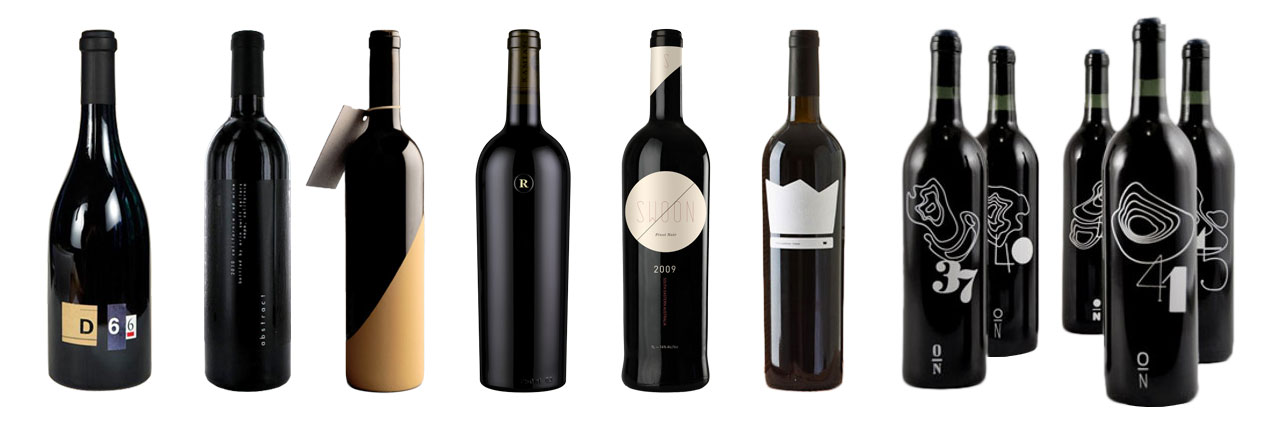 Wine Label Samples – Minimalistic