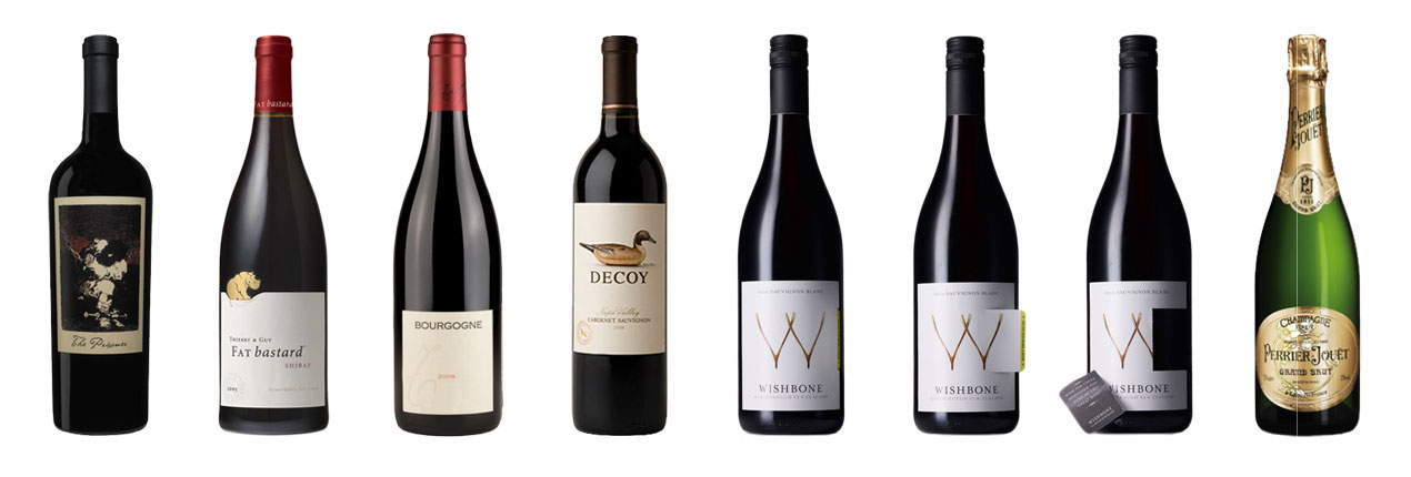 Wine Label Samples – Paper