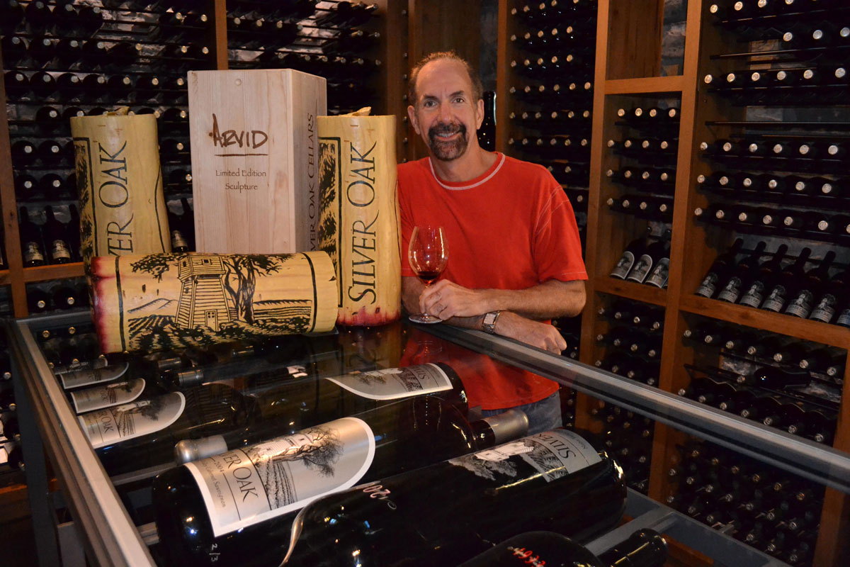Large Format Bottles – Steve Jacobson at Silver Oak