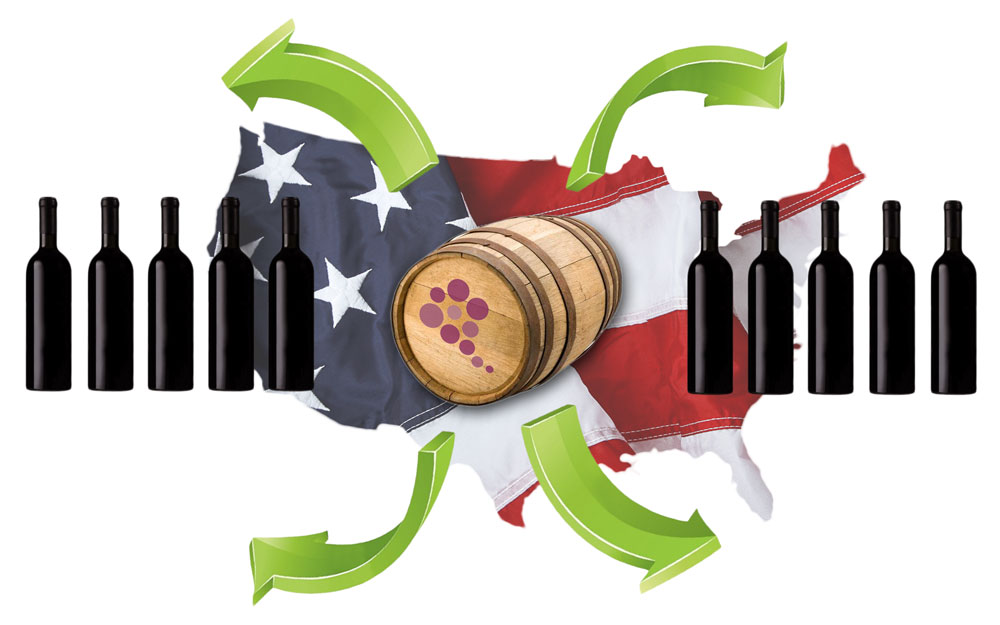 Record Numbers For U.S. Wine Exports