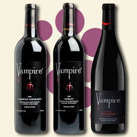 vampires blood wine