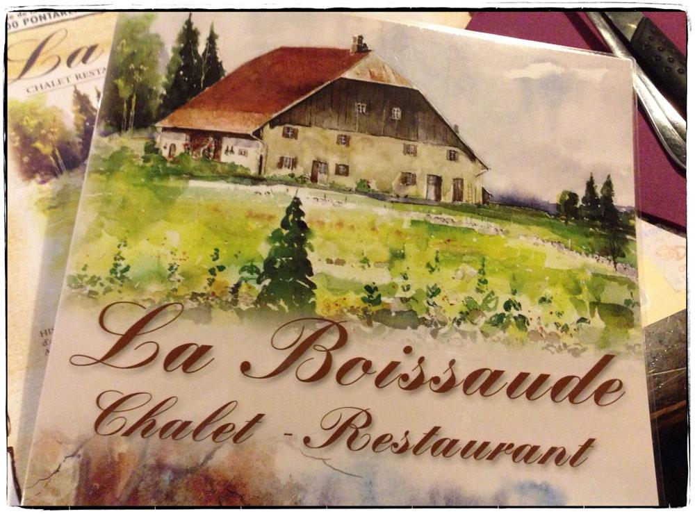 La Boissaude – Chalet & Restaurant