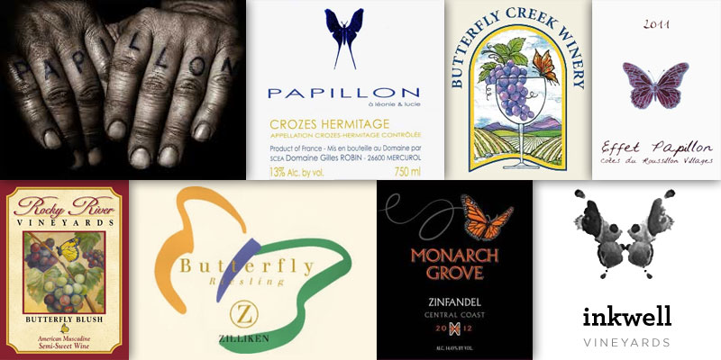 Wine With An Animal In The Name – Butterfly & Papillon