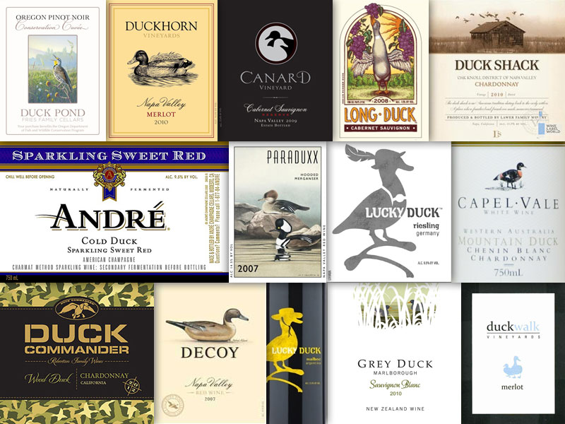Wine With An Animal In The Name – Duck & Canard
