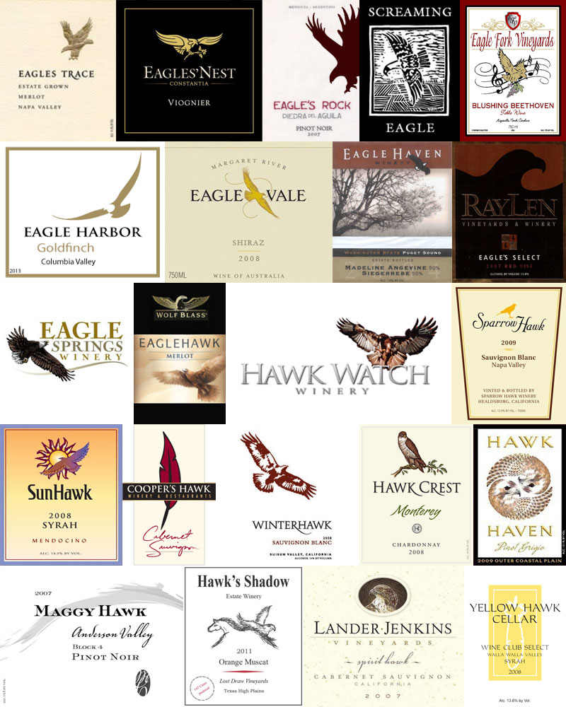 Wine With An Animal In The Name – Eagle & Hawk