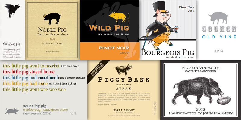 Wine With An Animal In The Name – Pig & Cochon