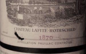 Château Lafite-Rothschild 1870